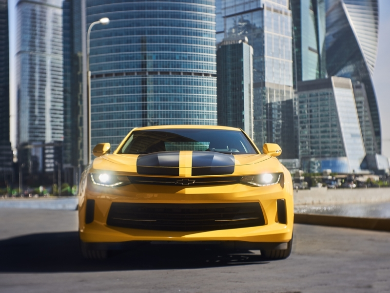 В Российской Федерации появится авто Шевроле Camaro, как в«Трансформерах»