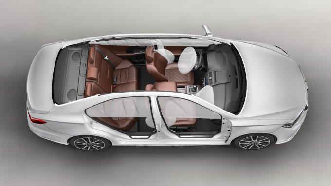 Автомобиль оснащен современными системами пассивной и активной безопасности