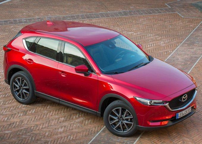 До России второе поколение Mazda CX-5 добралось только что