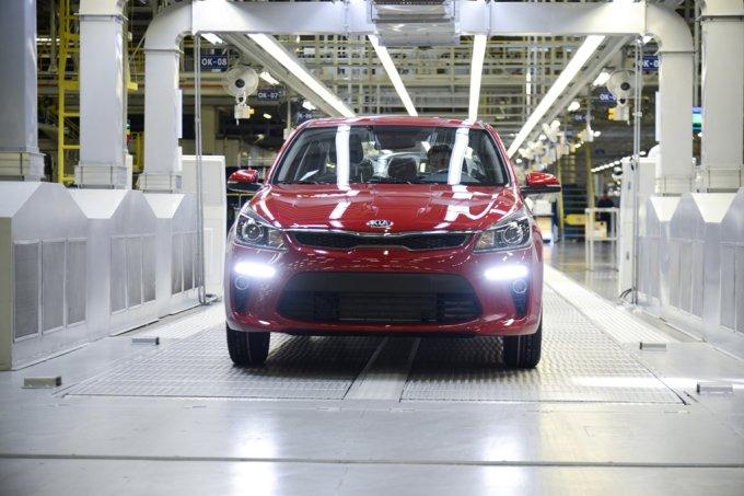 Серийное производство нового KIA Rio уже стартовало на заводе «Хендэ Мотор МануфактурингРус» («ХММР») в Санкт-Петербурге