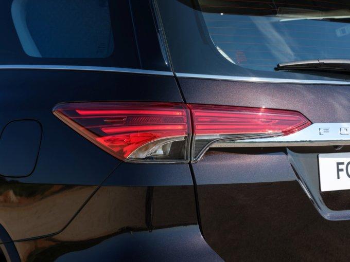 Toyota Fortuner получил самые современные опции