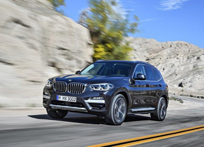 BMW X3 New отличается облегченной конструкцией