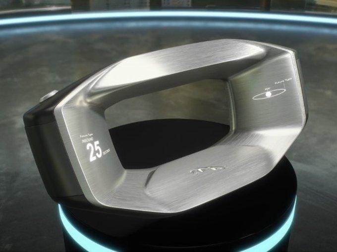 В Ягуар презентовали концептуальный автомобиль разумного руля