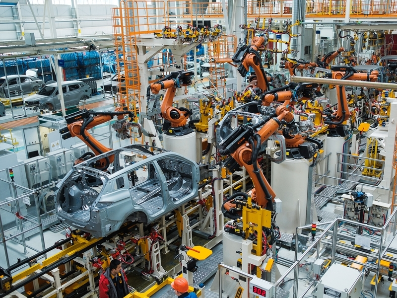 В Беларуссии открылся завод Geely