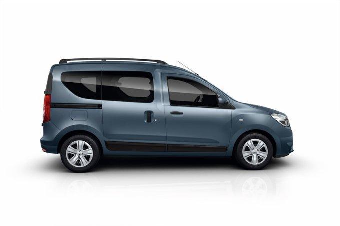 Renault Dokker комплектуется 15-дюймовыми штампованными стальными или легкосплавными дисками