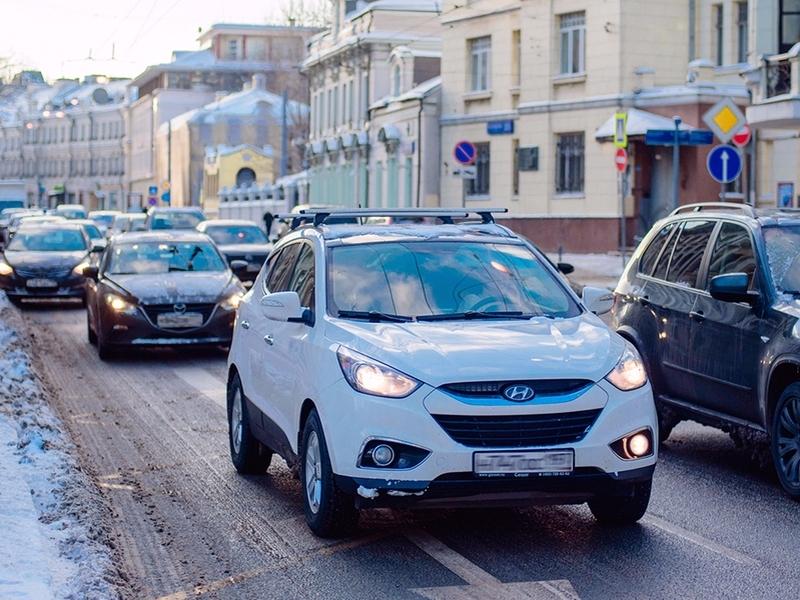 Задва дня вгороде случилось около 3000 ДТП— Снегопад в столице России