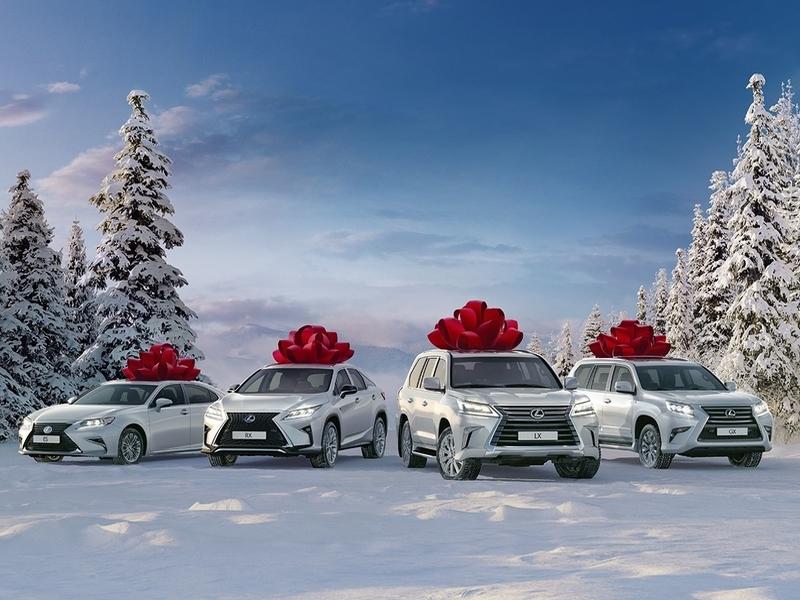 Особые декабрьские предложения для потребителей авто Лексус