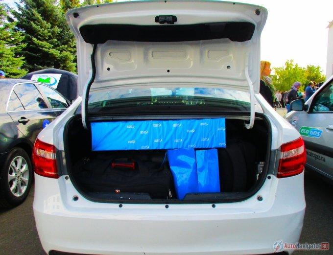 Lada Vesta CNG на метане: гибрид экологичности и экономичности