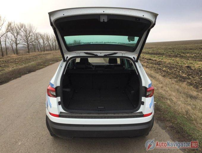 Максимальный объем багажного отделения — 1 980 л.