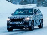 Range Rover Coupe 2019 испытывают на зимних дорогах