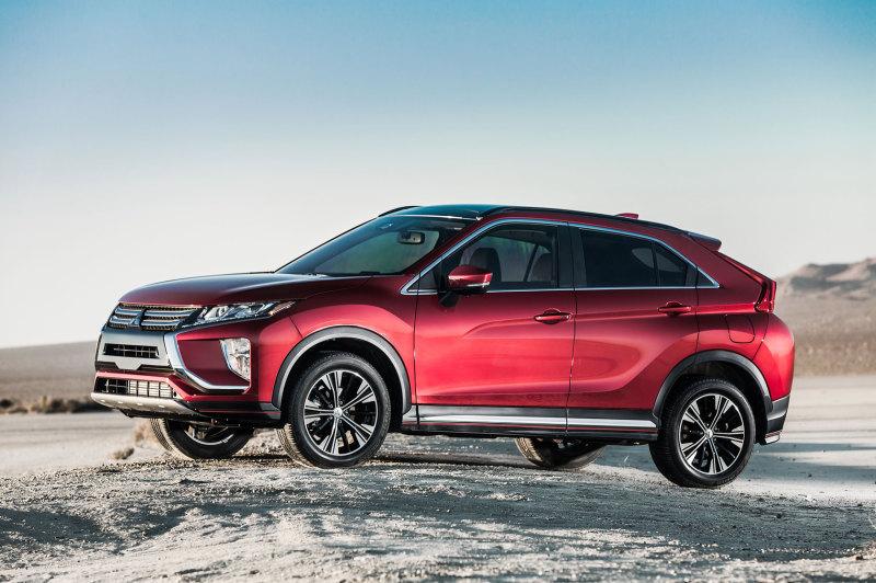Mitsubishi озвучила российские цены на кроссовер Eclipse Cross