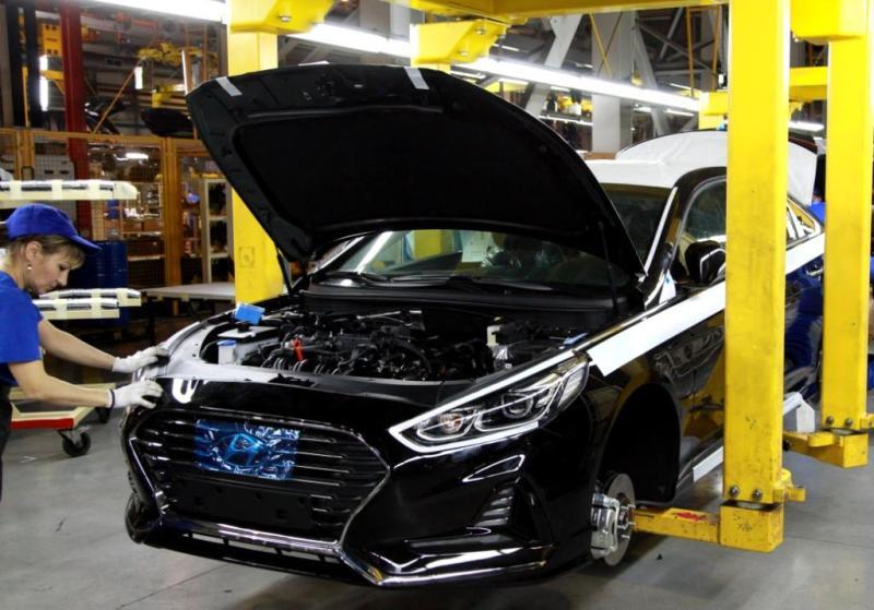В Российской Федерации стартовало производство седана Хюндай Sonata