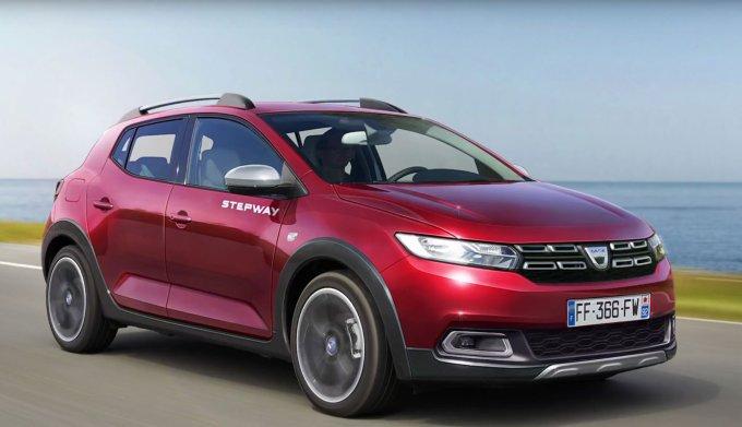 Новый Renault Sandero 2019 модельного года новые фото