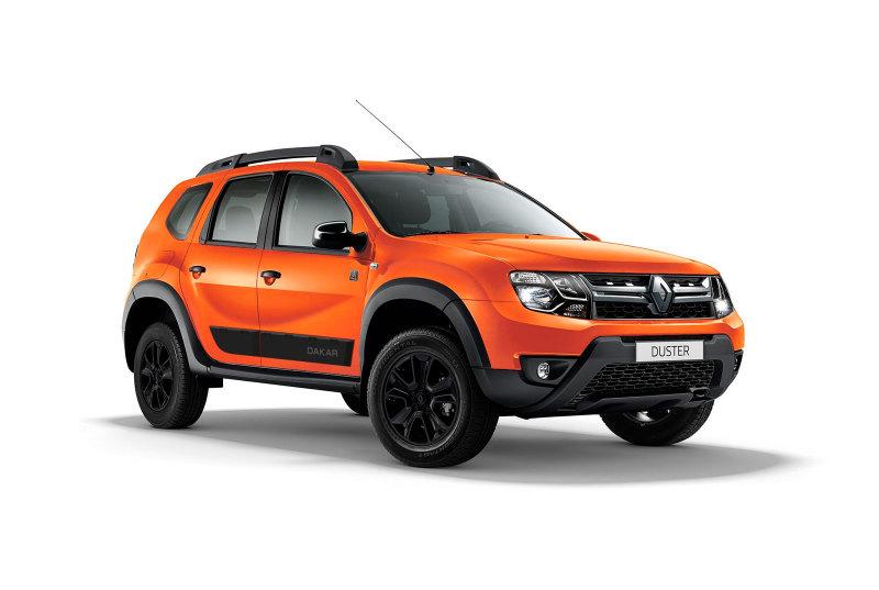 В Российской Федерации приедет Рено Duster встиле ралли Dakar