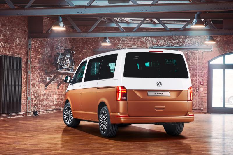 Представлен обновлённый Volkswagen Multivan T6 1