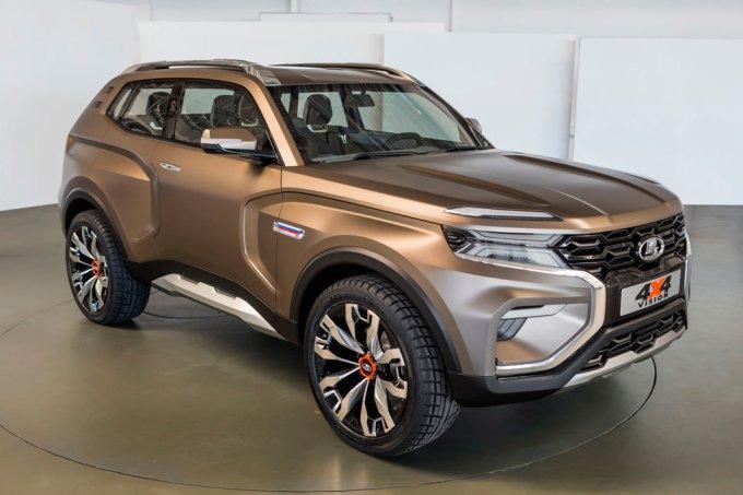 Концепт-кар Lada 4x4 Vision показанный в 2018 году, должен превратится в новое поколение