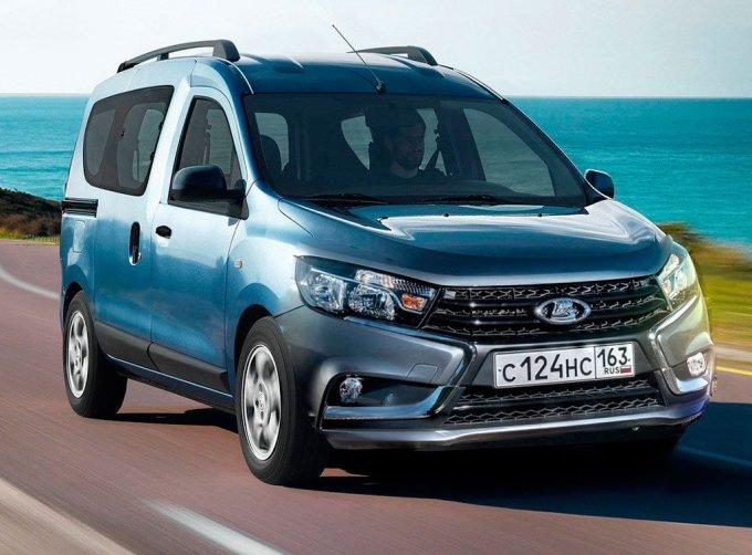 Модель с условным обозначением Lada Van создаётся на базе Renault Dokker