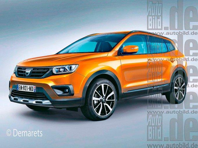 Таким дизайнеры представляли себе новое поколение Dacia/Renault Duster в 2016-2017 годах, однако тогда в серию пошла модель на модернизированной платформе B0