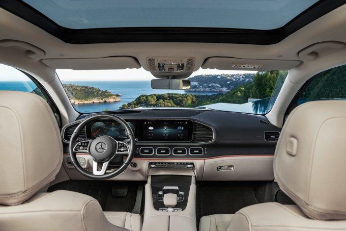 Новый Mercedes-Benz GLS (X167) представлен официально, его будут выпускать в России