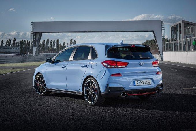 """""""Заряженный"""" Hyundai i30 N: в России от 2.200.000 руб."""