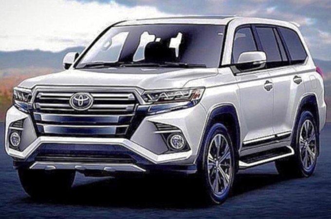 Новый Toyota Land Cruiser 300 представят осенью