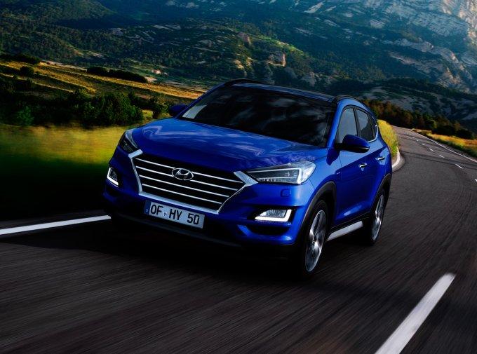 Hyundai Tucson прошёл последние обновление в 2018 году