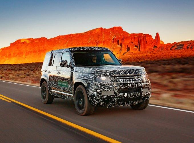 Новый Land Rover Defender 2020 находится на финальном этапе разработки