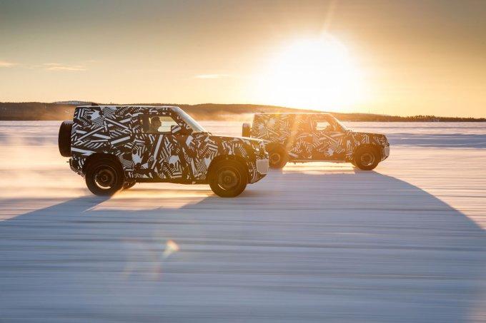 Новый Land Rover Defender получит кузова с тремя и пятью дверьми