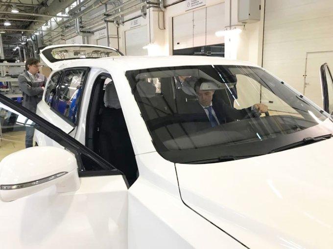 Прототип внедорожника Aurus Komendant рассекретили в Минпромторге