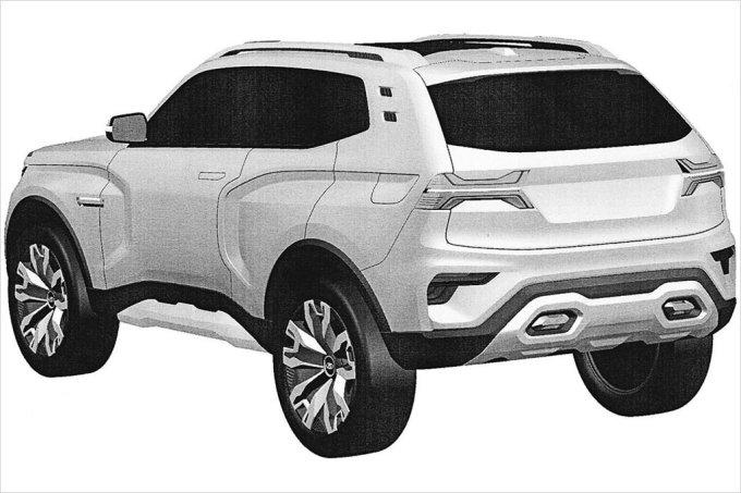 Новая Lada 4x4 получила патент на дизайн