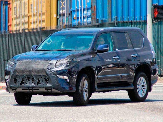 Обновлённый Lexus GX 2020 проходит тесты