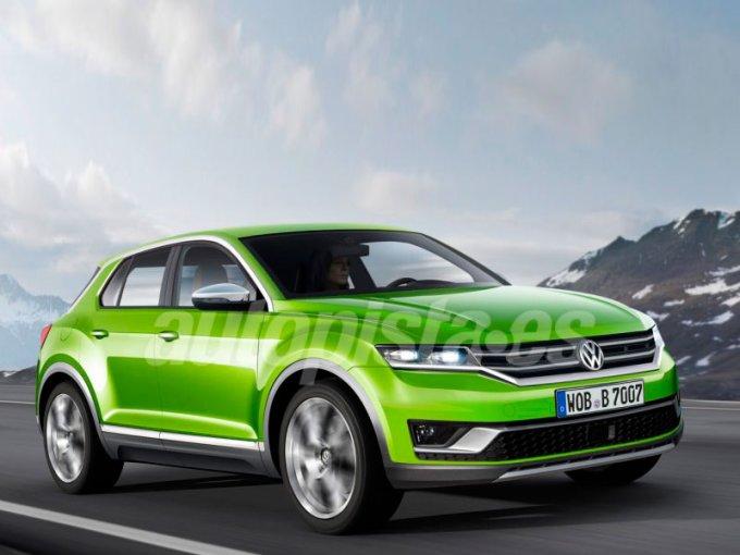 Таким независимые дизайнеры представляли кроссовер Volkswagen на одной базе с Polo несколько лет назад