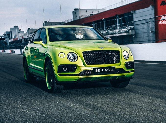 Bentley Bentayga Pikes Peak достанется одному российскому покупателю