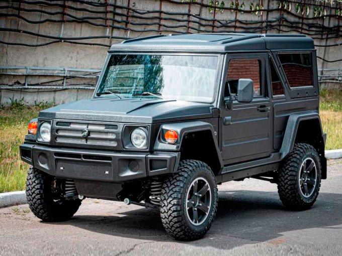 83c9af94d7660 В Тольтии возможно купить новую модель российского внедорожника, продажами  занимается один из дилеров марки Lada.