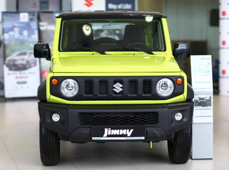 Названа стоимость нового внедорожника Suzuki Jimny