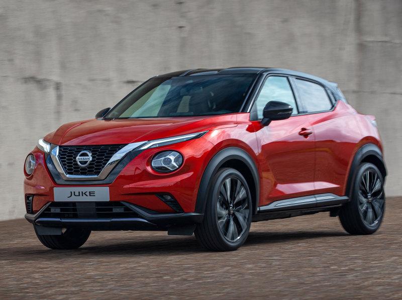 Nissan показал на видео Juke