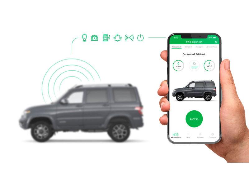 УАЗ из будущего: теперь его можно заводить со смартфона!- журнал За рулем