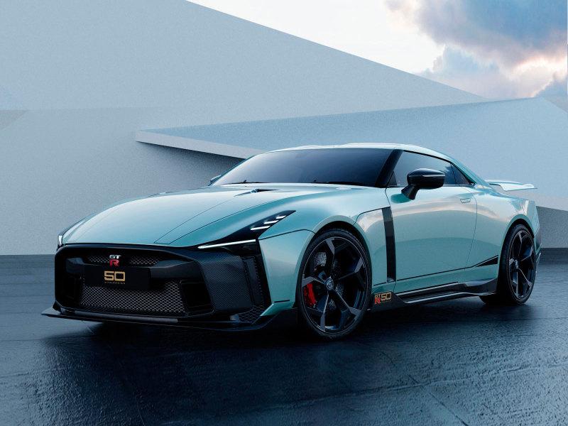 Nissan назвал сроки начала поставок GT-R50 от Italdesign