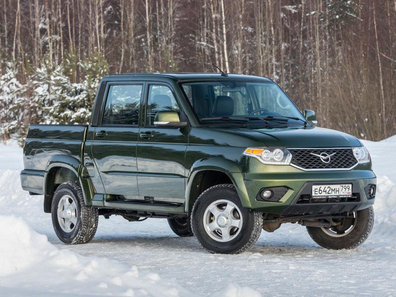 УАЗ Пикап с автоматом стоит больше миллиона рублей - Авто Mail.ru