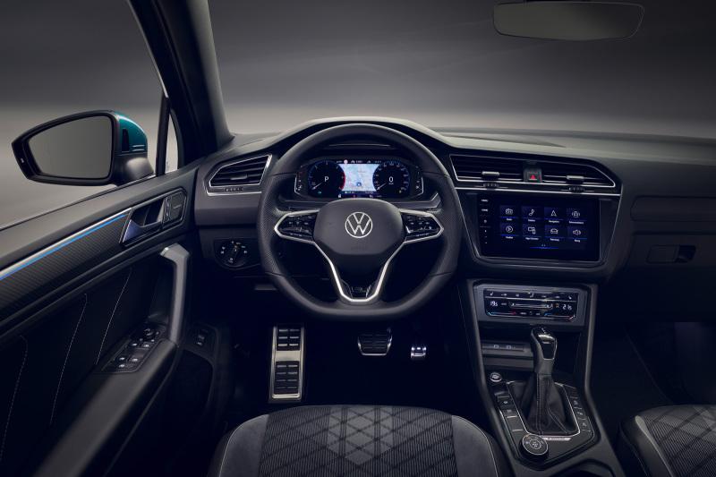 Рестайлинг Volkswagen Tiguan 2021 представлен официально