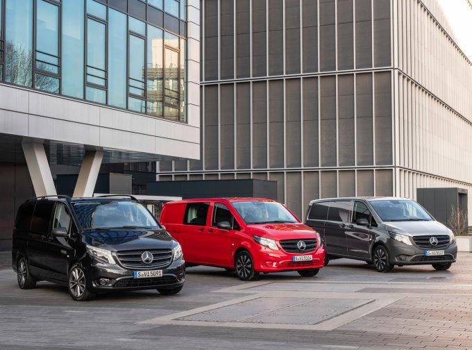Обновлённый Mercedes-Benz Vito появился в России: от 2.343.000 руб.