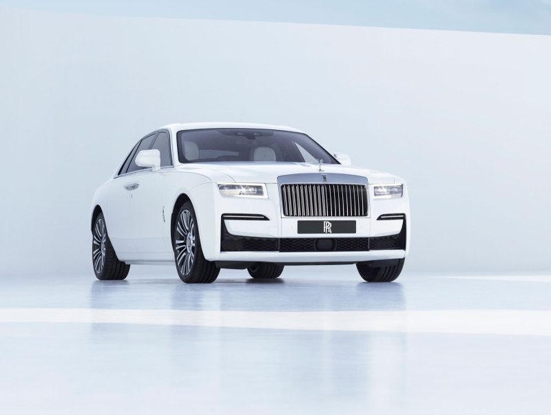 Rolls-Royce продемонстрировал фары нового Ghost