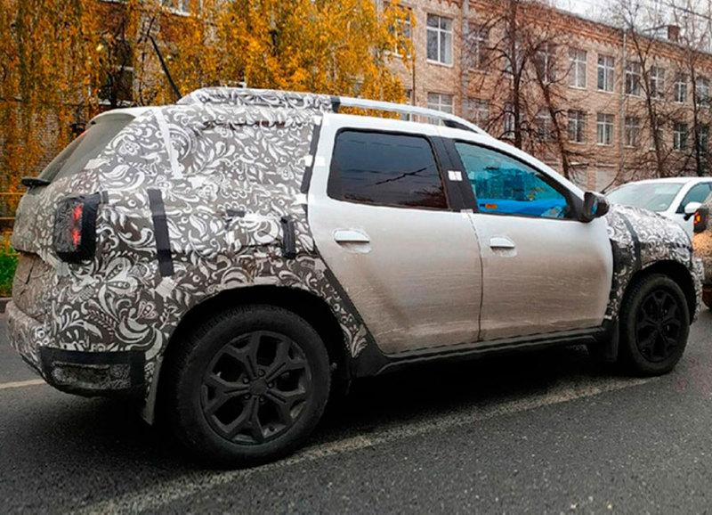 Обновленный Duster для России замечен в Тольятти- журнал За рулем