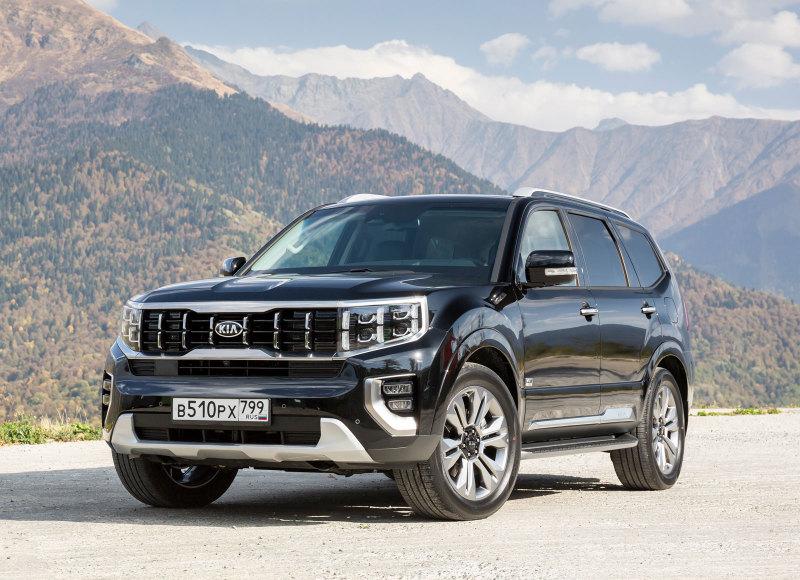 В России стартовали продажи нового Kia Mohave