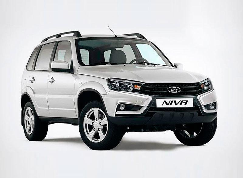 Возможный вариант дизайна обновлённой модели Lada Niva 2021 года