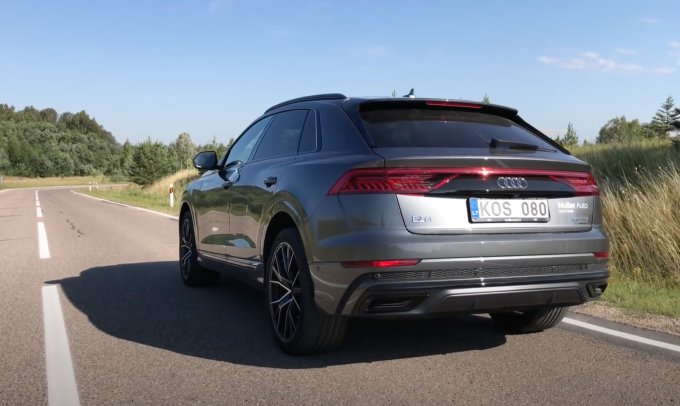 Экспресс-тест Audi Q8: Прости X6, твое время прошло