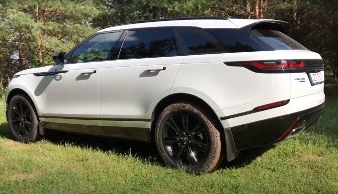 Экспресс-тест Land Rover Velar: Драйв и впечатления
