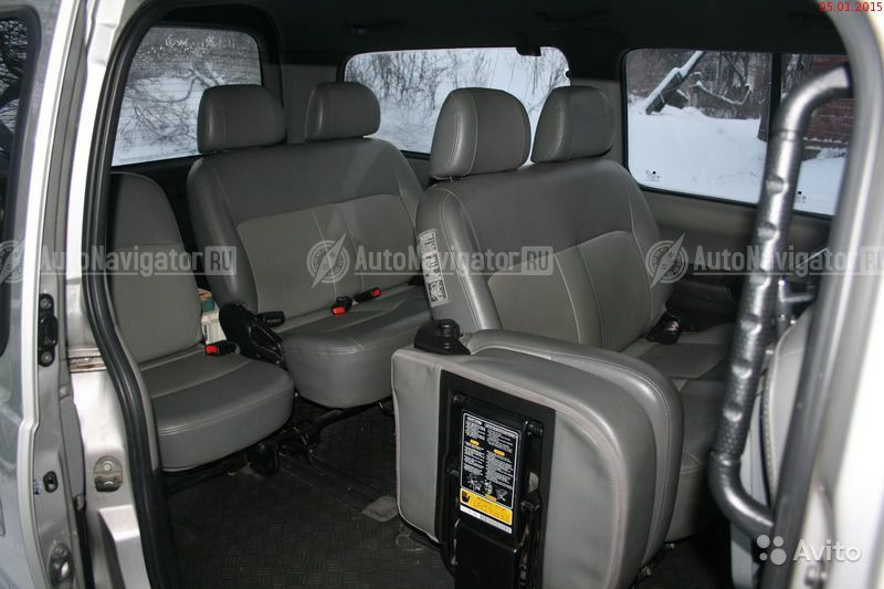 hyundai starex 2007г фото салона