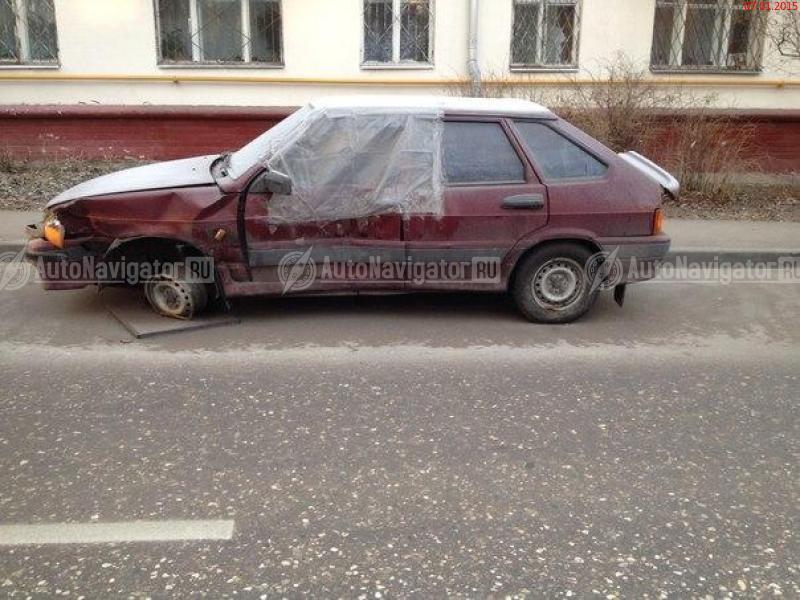 Буфера телки и старое авто